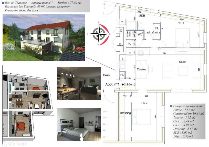 A vendre Xonrupt Longemer 7501169345 Sextant france