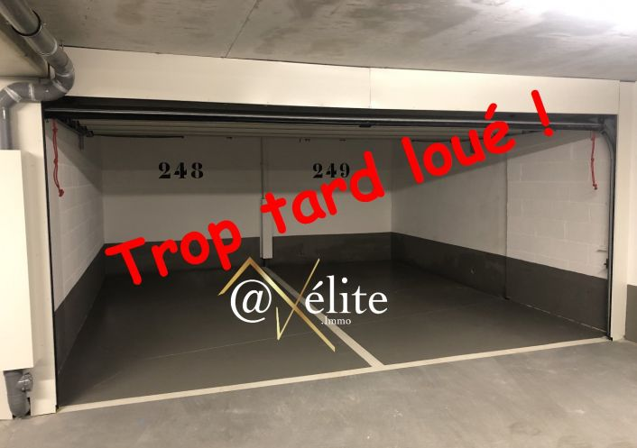 For rent Parking int�rieur Saint Germain En Laye | R�f 777921500 - Axelite sas