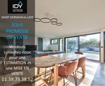 A vendre  Saint Germain En Laye | Réf 780115371 - Immobilière des yvelines