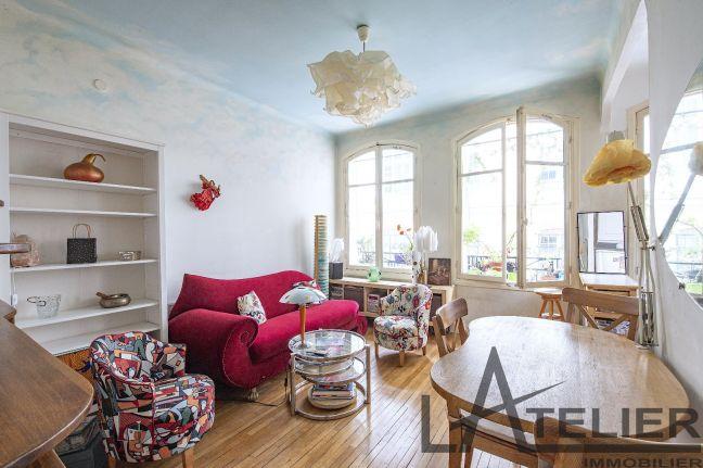 A vendre Appartement ancien Paris 12eme Arrondissement | Réf 78023192 - L'atelier immobilier