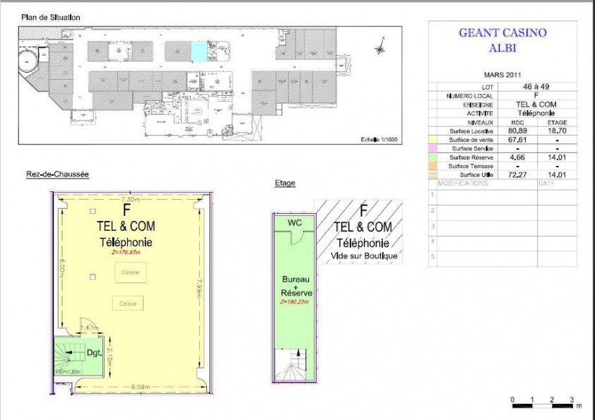 A louer Albi 810145700 Abc immobilier
