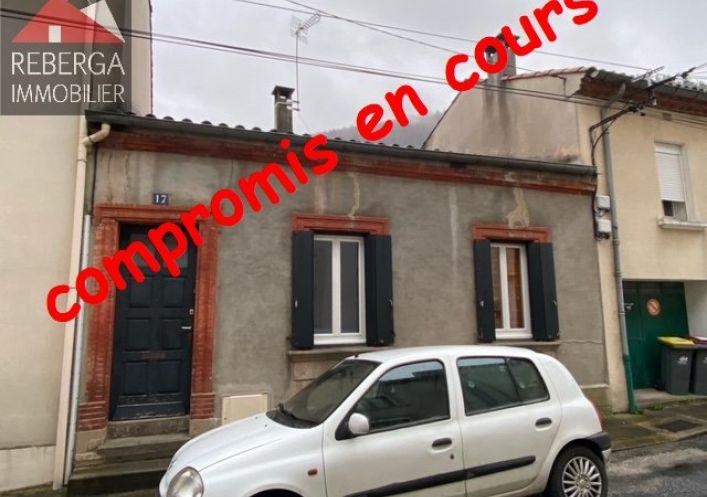 A vendre Maison Mazamet | Réf 810204087 - Reberga immobilier