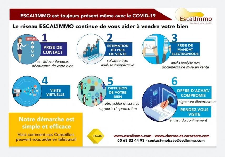A vendre  Saint Nicolas De La Grave   Réf 820034400 - Escal'immo