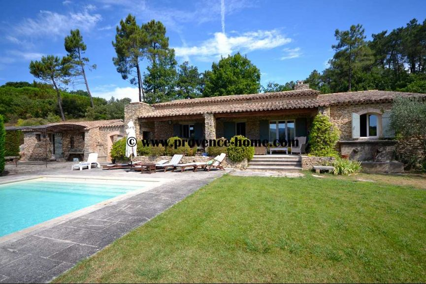 Vente maison en pierre gordes paca vaucluse 84220 n for At home architecture 84220 gordes