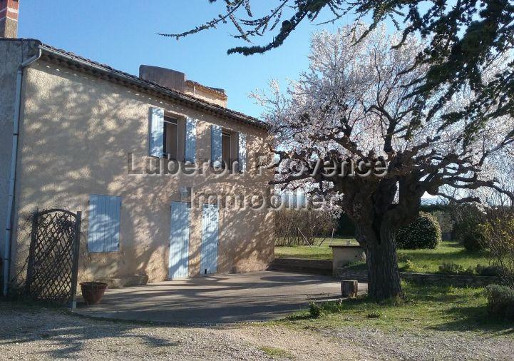 A vendre Mas Saint Saturnin Les Apt | Réf 840121245 - Luberon provence immobilier