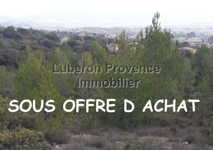 A vendre Terrain non constructible Saint Saturnin Les Apt | Réf 840121279 - Luberon provence immobilier
