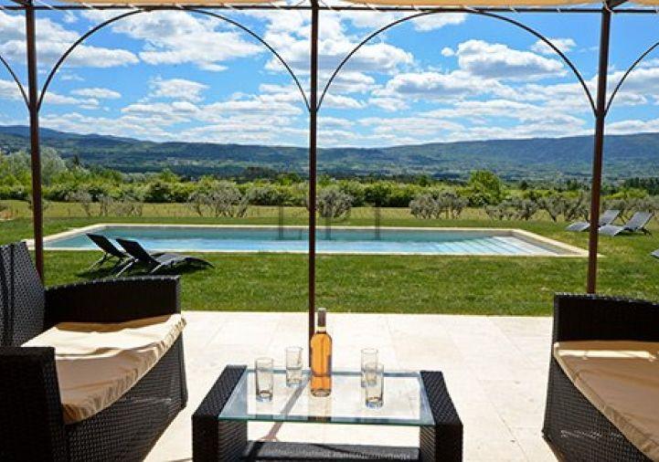A vendre Maison de hameau Roussillon   Réf 840121301 - Luberon provence immobilier
