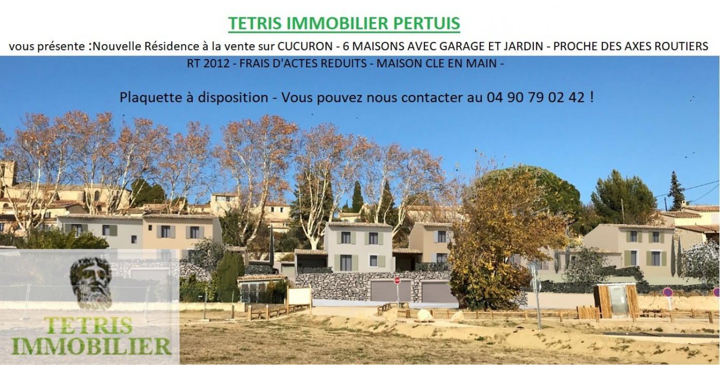 A vendre Cucuron 840135854 Tetris immobilier