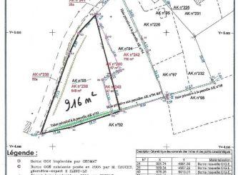 A vendre Terrain constructible Camprond | Réf 8500281059 - Portail immo