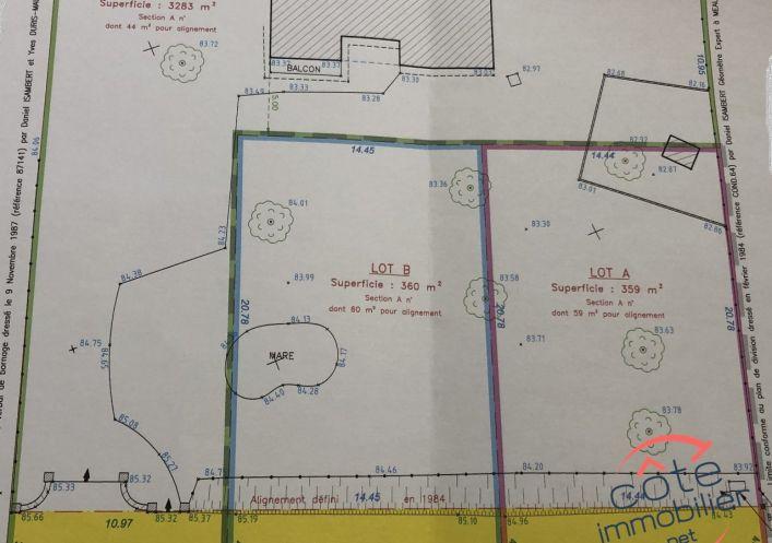 A vendre Terrain constructible Conde Sainte Libiaire | Réf 910124918 - Côté immobilier