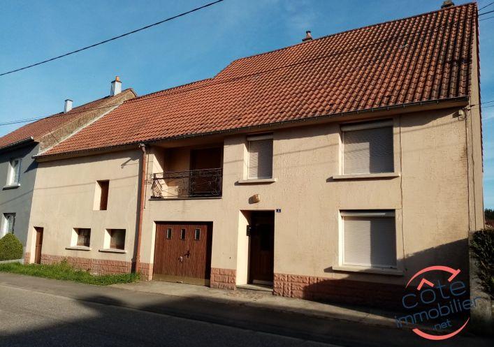 A vendre Maison de village Wiesviller   Réf 910125069 - Côté immobilier