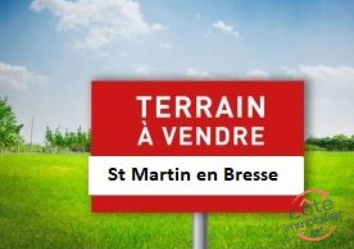 A vendre Terrain constructible Saint Martin En Bresse | Réf 910125113 - Côté immobilier