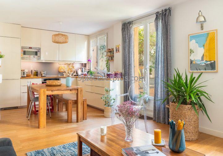 A vendre Appartement en rez de jardin Asnieres Sur Seine   Réf 9201110315 - 5 pièces et plus