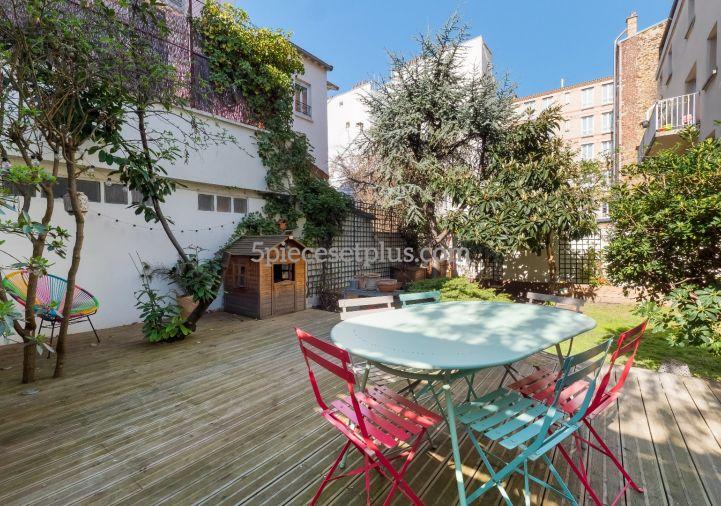 A vendre Appartement en rez de jardin Asnieres Sur Seine | Réf 9201110357 - 5 pièces et plus