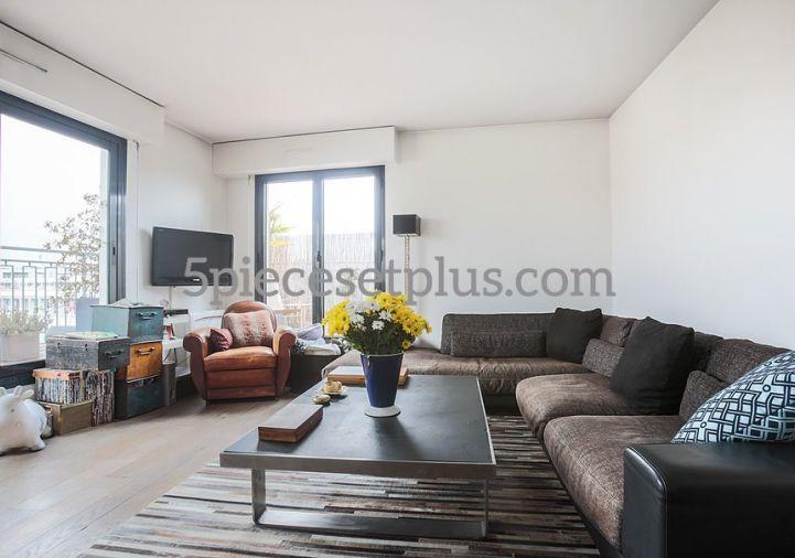 A vendre Appartement terrasse Asnieres Sur Seine | Réf 920119075 - 5 pièces et plus