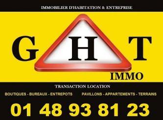 A vendre Bagnolet 940042551 Portail immo