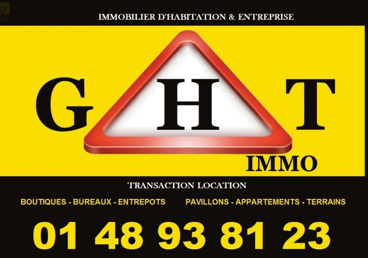 A vendre Gagny 940043377 Ght immo
