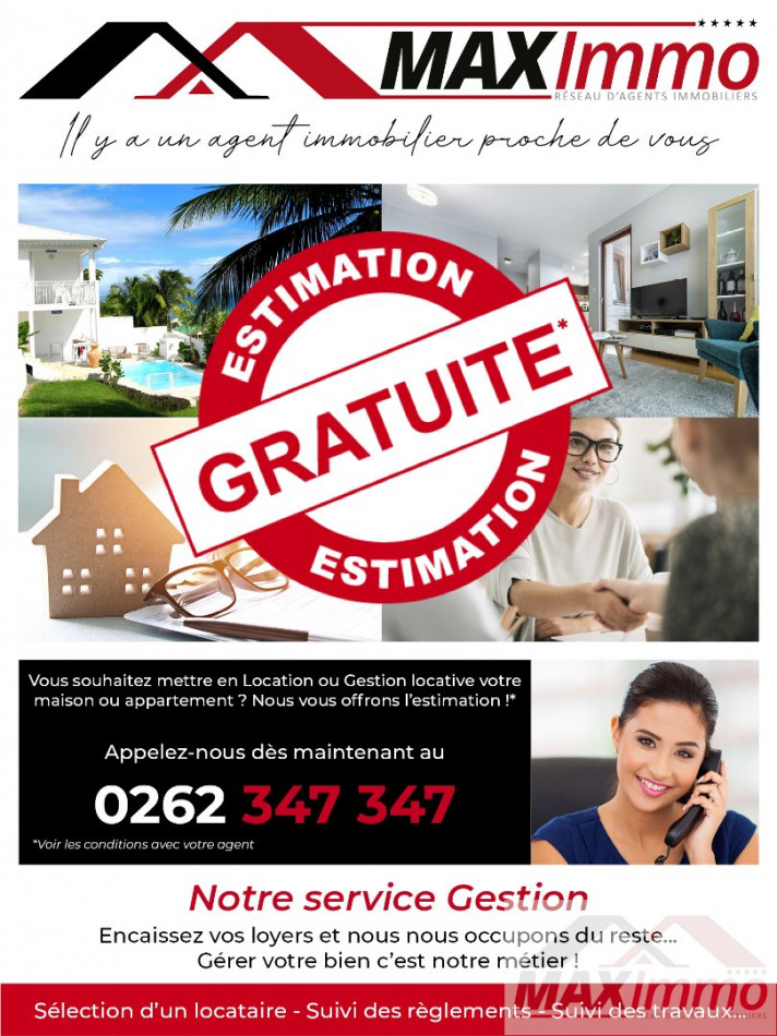 A louer Sainte Clotilde 970087034 Maximmo cg transaction