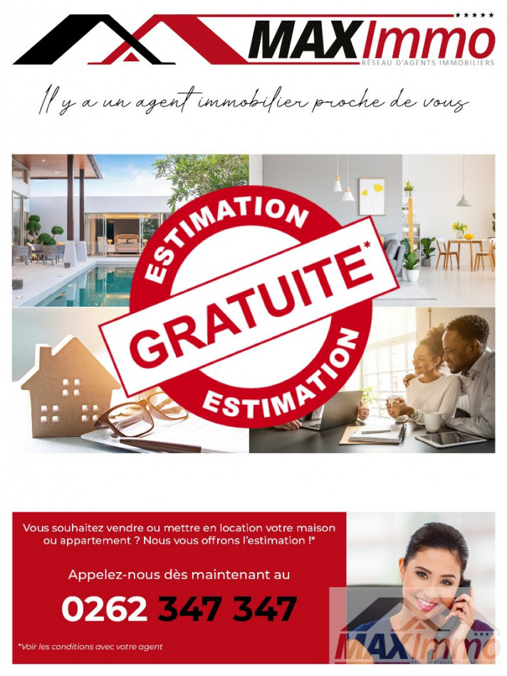 A vendre Le Piton Saint Leu 970087285 Maximmo cg transaction