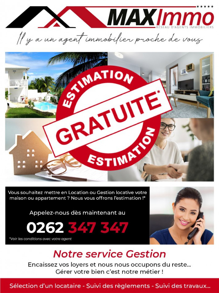 A louer Le Tampon 970087628 Maximmo cg transaction