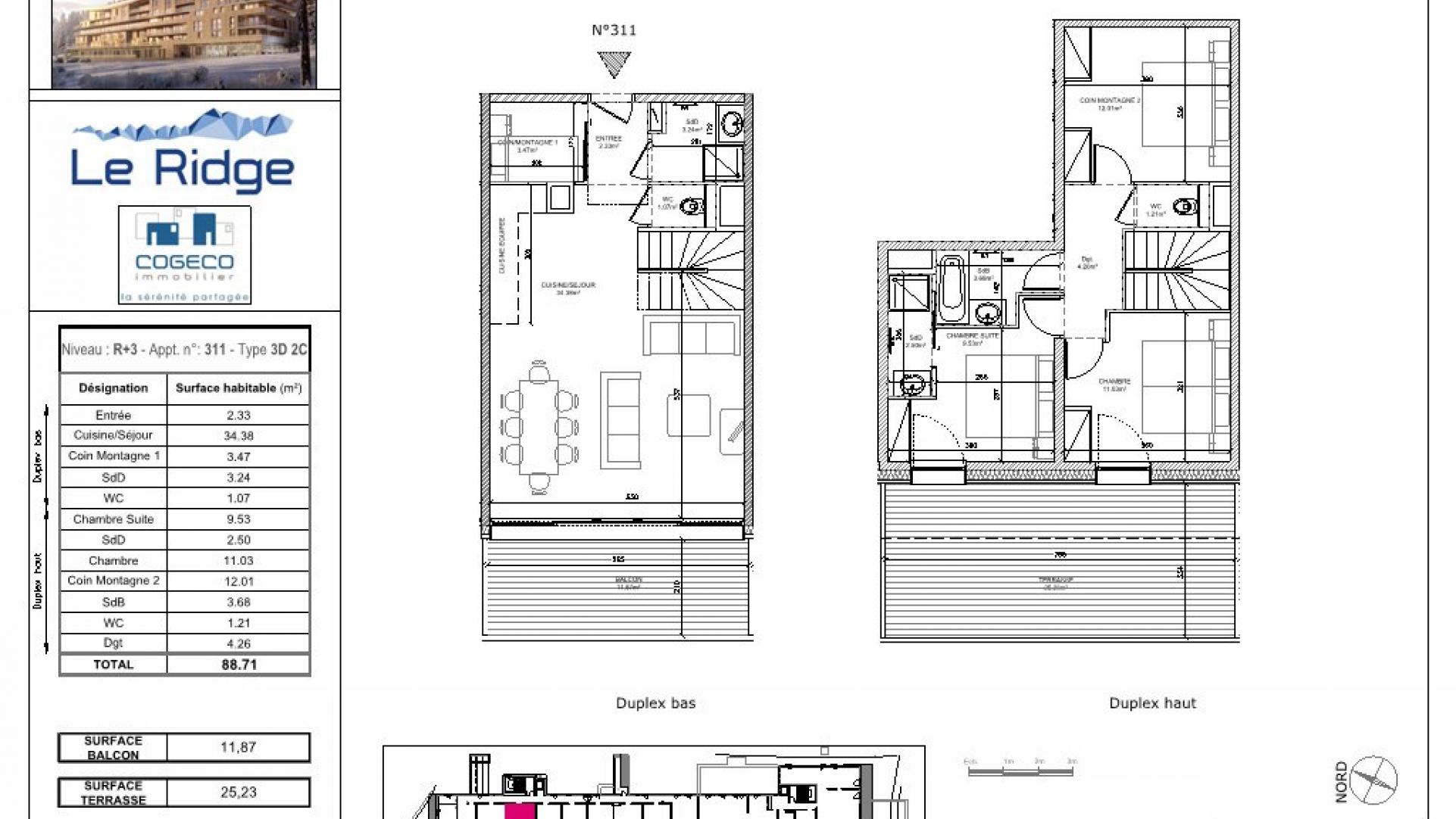 Achat Appartement Les Arcs