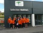 Selection habitat sponsor de l'équipe de quilles d'inières Selection habitat
