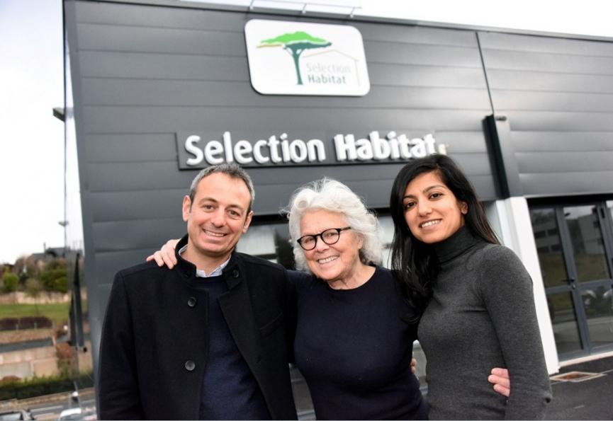Nouveau siège social décoré par catherine painvin Selection immobilier