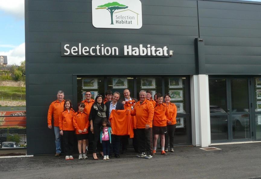 Selection habitat sponsor de l'équipe de quilles d'inières Selection immobilier