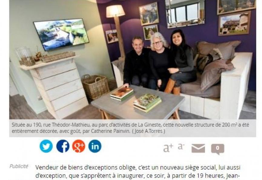 La presse en parle.... Selection immobilier