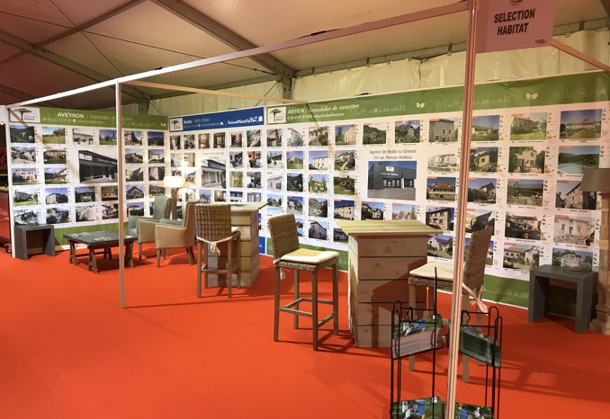 Salon de l'habitat rodez Selection immobilier