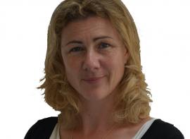 Caroline thibaut, responsable d'agence Logimax