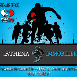 Rugby club saint orens xv Athena immobilier