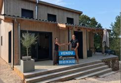 Vente villa bois auch  Gabriel art immobilier