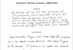 Vente maison route de pessan auch Gabriel art immobilier