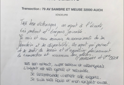 Vente maison avenue sambre et meuse auch Gabriel art immobilier