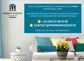 Covid 19 Pierres passion immobilier