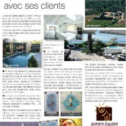 Article prestige et caractère été 2016 Agence galerie casanova