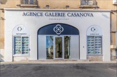 Nos locaux de clermont l'hérault Agence galerie casanova