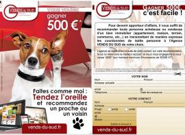 Lamalou immobilier vous offre 500 euros Lamalou immobilier