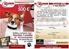 L' agence calvet vous offre 500 € Agence calvet