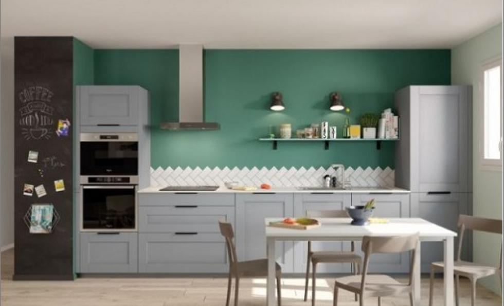 Douze idées de couleurs pour réanimer une cuisine Abessan immobilier