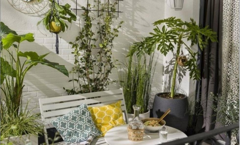 10 solutions gain de place pour aménager un petit balcon Abessan immobilier