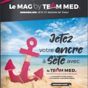 Découvrer notre nouveau magazine - team med Agence amarine