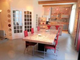 La sélection du jour : maison 5 pièces à vendre à loupian ! S'antoni immobilier agde