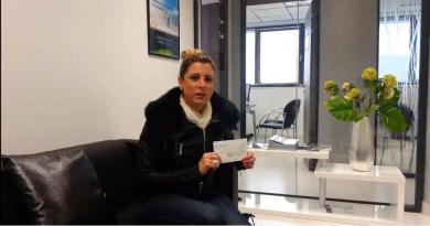 Melle salambier a gagné 1 000€ grace à kevin naert S'antoni immobilier