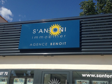 Inauguration de l'agence s'antoni immobilier marseillan-plage S'antoni immobilier