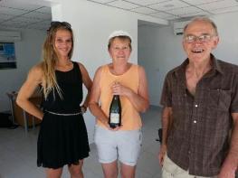 Heureux acquéreurs d'un appartement à marseillan plage  S'antoni immobilier agde
