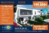 La résidence villas paolo à agde est accessible avec le ptz ! S'antoni immobilier agde