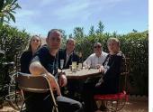 Sympathiques acquéreurs à marseillan-plage S'antoni immobilier agde