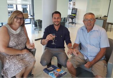 Heureux acquéreurs à florensac S'antoni immobilier